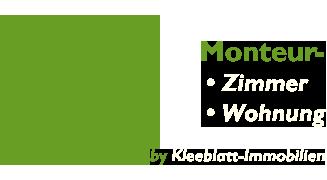 Kleeblatt Immobilien Monteurzimmerl Logo